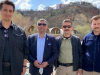 Milletvekili Erol'dan polis noktalarına ziyaret