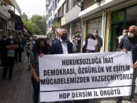 HDP Dersim: Kobani davası siyasi bir davadır