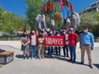1 Mayıs anıtının açılışı yapıldı