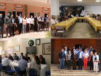 CHP Dersim Milletvekili ve Belediye başkanları Mersin'de temaslarda bulundu