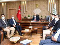 Milletvekili ve Belediye Başkanlarından kurumlara ziyaret