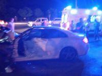 Traktör ve otomobil kaza yaptı: 3 kişi yaralandı