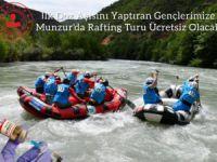 Aşı yaptıran gençlere ücretsiz rafting turu