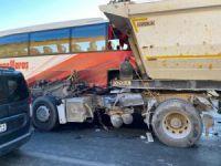 Kahramanmaraş'ta zincirleme trafik kazası: 5 yaralı VİDEO