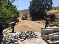 Hozat'ta  yol çalışması sürüyor