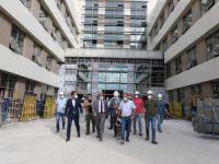Erzincan'da yapımı devam eden devlet hastanesinin inşaatı yüzde 70 oranında tamamlandı