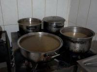Büryan etinin yağından yapılan avşor çorbası kahvaltının vazgeçilmezi