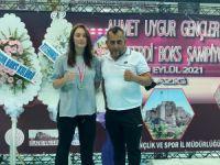 Açelya Ünlü, Boksta Türkiye ikincisi