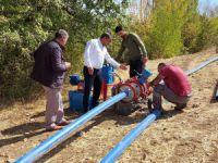 Hozat'ta içme suyu hattı değiştiriliyor
