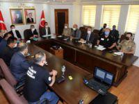 Üniversite güvenlik ve koordinasyon toplantısı yapıldı