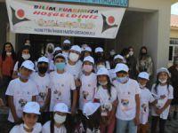 Köy okulunda 'Bilim Fuarı' sergisi