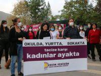 Dersim Yenigün Kadın Dayanışma Derneği: Kadınların yanında, tacizcilerin karşısındayız