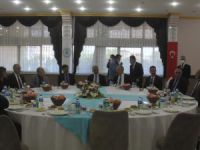 Erzincan'da 19 Ekim Muhtarlar Gününe yönelik kutlama yemeği verildi