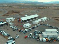 Horasan'da Canlı Hayvan Pazarı ve Mezbahana açılışı