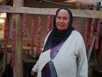 Dersimli Zahide Özcan'ın kış hazırlığı başladı
