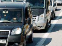 Polis 147 bin aracın peşinde!
