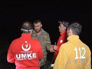 Nemrut Dağı'nda mahsur kalanlar komandolar tarafından kurtarıldı