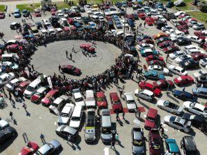 Drift tutkunları Erzincan'da nefes kesti