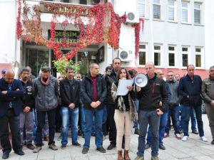 Belediye'de Kışanak ve Anlı için basın açıklaması gerçekleştirildi